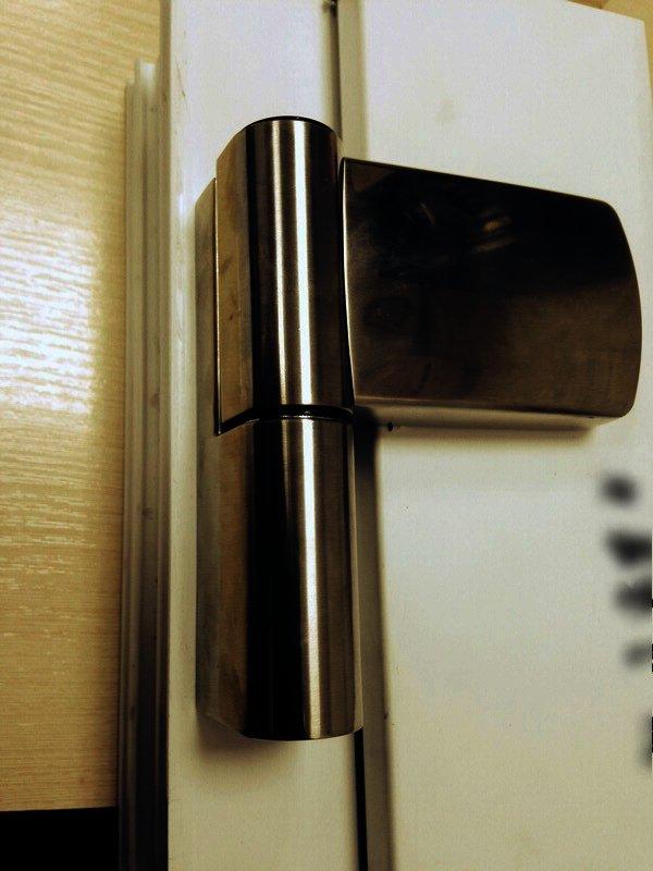 Петли для дверей ПВХ Schuring M-TEC I нержавейка