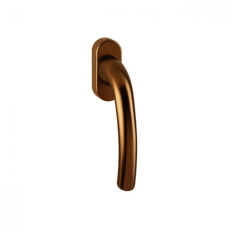 Ручка оконная Hoppe Tokyo бронза F4
