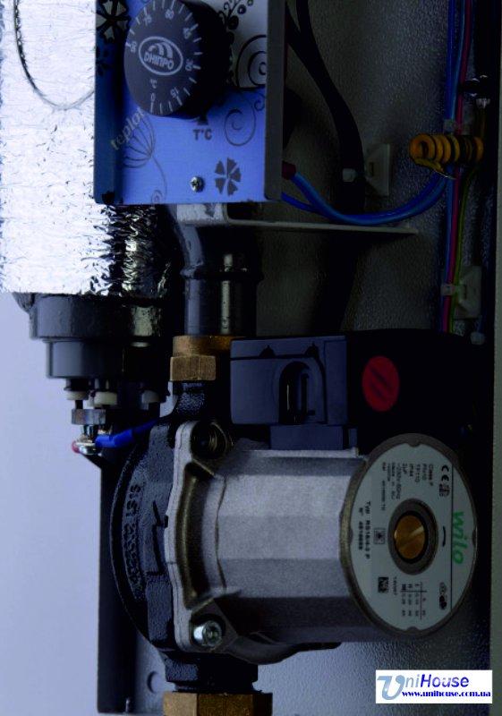 Котел электрический Днипро Мини с насосом КЭО-МН-9-380