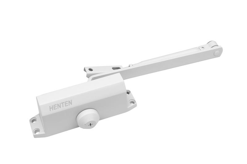 Доводчик для дверей Henten N4 белый