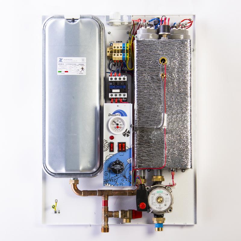 Котел электрический для отопления Днипро Евро КЭО-НЕ-6-380