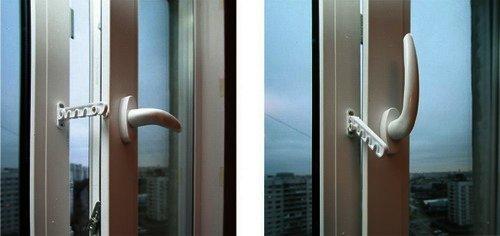 Ограничитель проветривания гребенка для окна