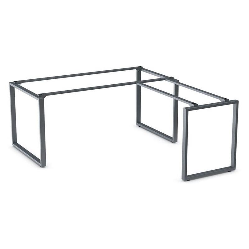 Каркас для стола с брифинг-приставкой Пари Q