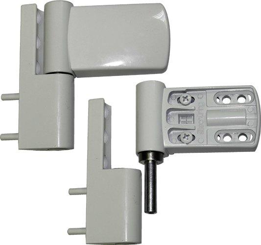 Петля дверная Schuring M-TEC I белая 160 кг