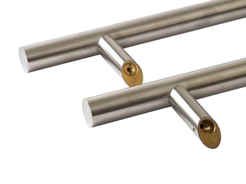 Дверная ручка с нержавеющей стали 300/500 мм под углом