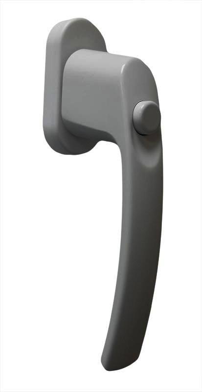 Ручка віконна з кнопкою Medos біла