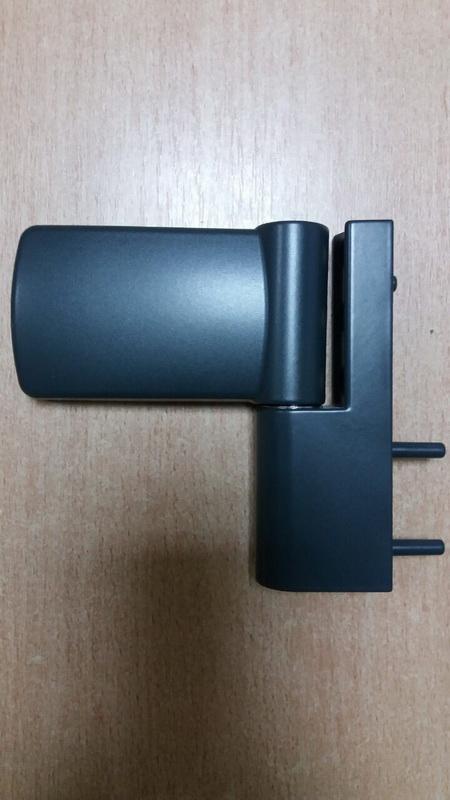 Петли для входных ПВХ дверей Schuring M-TEC I антрацит 160 кг