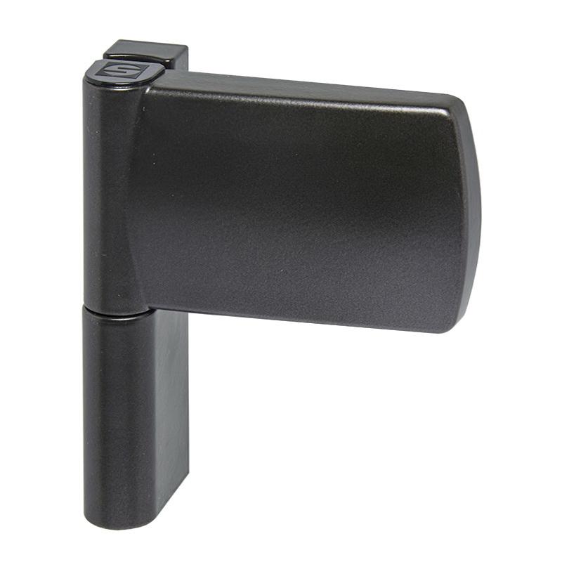 Петля дверная Schuring M-TEC III 120 кг антрацит