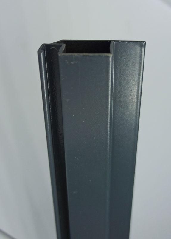 Профиль для москитной сетки серый антрацит 10х30