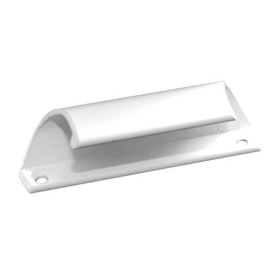 Ручка балконная металлическая белая
