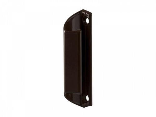 Ручка балконная металлическая коричневая