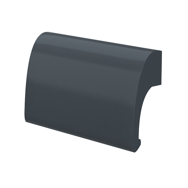 Ручка балконна металева Medos DE LUXE антрацит