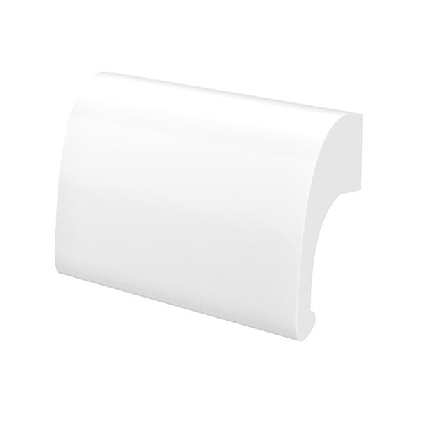 Ручка балконная металлическая Medos DE LUXE белая