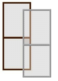 Сетка москитная для балконной двери