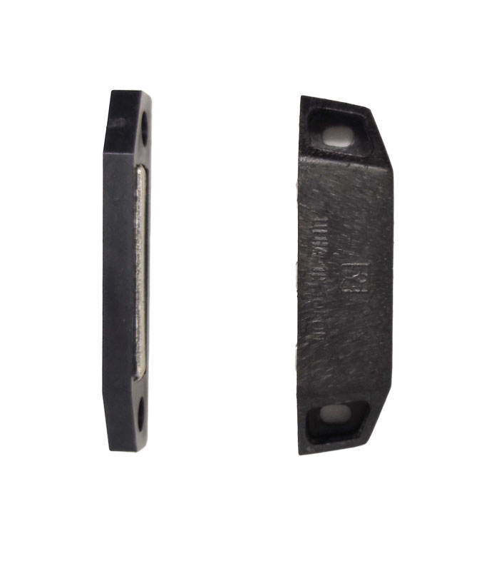 Защелка-магнит для дверной москитной сетки черная